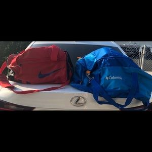 DUFFLE BAGS FOR SALE $30 for two
